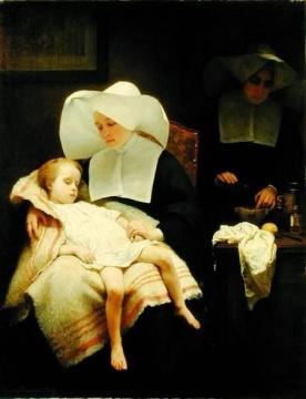 Sisters of Mercy Artwork by Henriette Browne