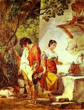 An Interrupted Date Artwork by Karl Pavlovich Bryullov