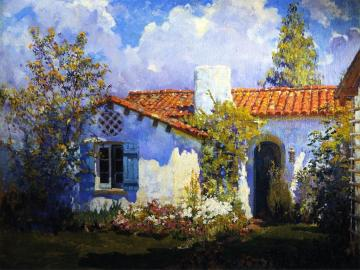 The Artist's Cottage Artwork by Alson Skinner Clark