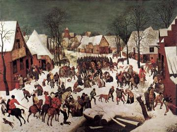 The Massacre of the Innocents Artwork by Pieter Bruegel the Elder