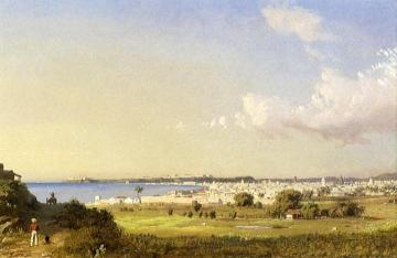 Havana Bay, Morro Castle Artwork by Charles De Wolf Brownell