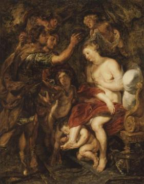 The Crowning of Roxana Artwork by Peter Paul Rubens