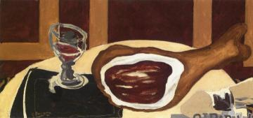 Ham Artwork by Georges Braque