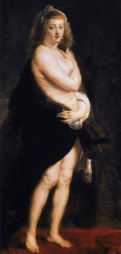 The Fur Artwork by Peter Paul Rubens