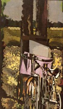 The Bicycle Artwork by Georges Braque