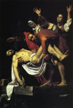 The Entombment of Christ Artwork by Caravaggio