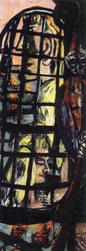 Perseus (Triptych - Right Panel) Artwork by Max Beckmann