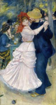 Dance At Bougival Artwork by Pierre Auguste Renoir