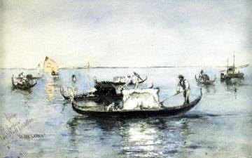 On the Lagoon, Venice Artwork by Robert Frederick Blum