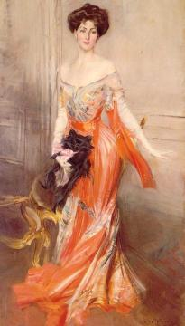 Portrait Of Elizabeth Wharton Drexel Artwork by Giovanni Boldini