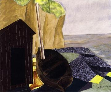 Cabin and Boats Artwork by Georges Braque