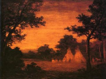 The Golden Hour Artwork by Ralph Albert Blakelock