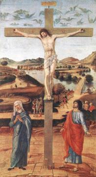 Crucifix Artwork by Giovanni Bellini