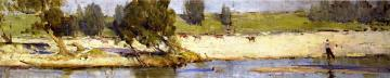 Banks of the Hawkesbury Artwork by Sir Arthur Streeton