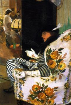 After the Meeting Artwork by Cecilia Beaux