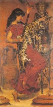 Autumn Artwork by Sir Lawrence Alma-Tadema