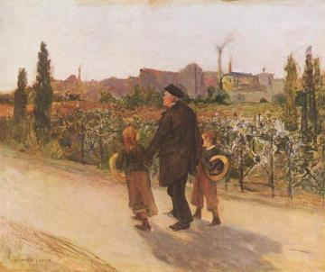 All Souls' Day Artwork by Jules Bastien-Lepage