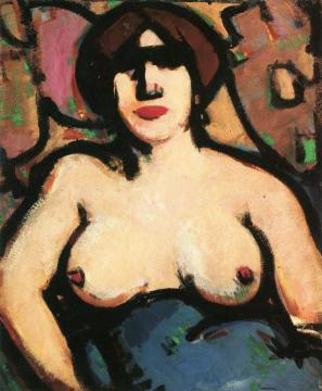 Nude Study Artwork by John Duncan Fergusson