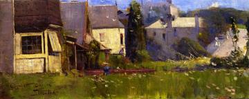 At Elizabeth Bay Artwork by Sir Arthur Streeton