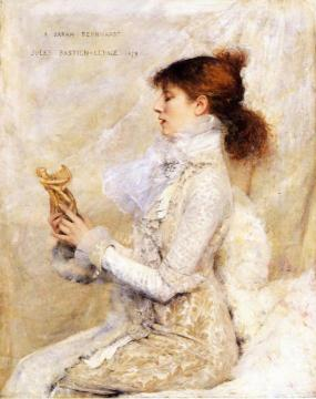 The Sarah Bernhardt Portrait Artwork by Jules Bastien-Lepage