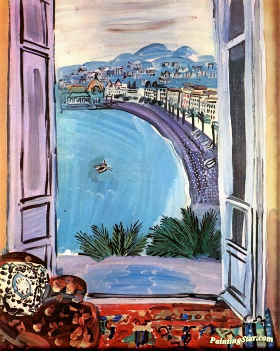 The Window At Nice Artwork By Raoul Dufy Oil Painting