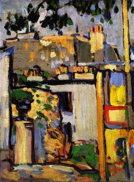 Boulevard Edgar Quinet, Paris Artwork by John Duncan Fergusson