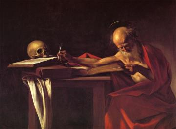 St Jerome Artwork by Caravaggio
