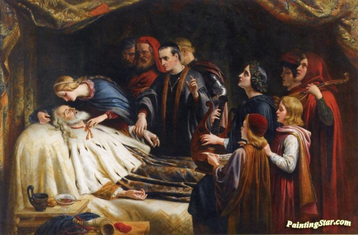 The Awakening Of King Lear By The Kiss Of Cordelia Artwork ...