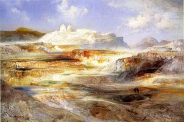 Jupiter Terrace, Yellowstone Artwork by Thomas Moran