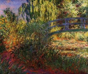 Path Along The Water-lily Pond Artwork by Claude Oscar Monet