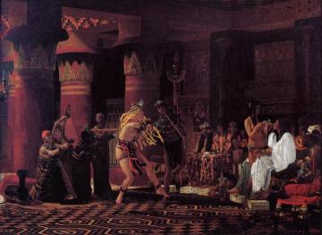 Pastimes In Ancient Egypt, 3,000 Years Ago Artwork by Sir Lawrence Alma-Tadema