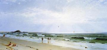 Morning at Narragansett, The Turn of the Tide Artwork by Alfred Thompson Bricher