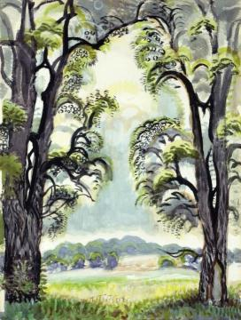 The Clearing Artwork by Charles Burchfield