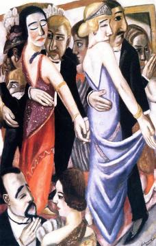 Dance In Baden-baden Artwork by Max Beckmann