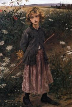 Roadside Flowers Artwork by Jules Bastien-Lepage