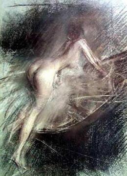 Young Lady Entering Bath Artwork by Giovanni Boldini