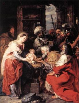Adoration of the Magi Artwork by Peter Paul Rubens