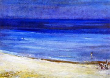 Untitled (seascape) Artwork by Charles Conder