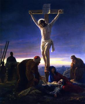 Christ on the Cross Artwork by Carl Heinrich Bloch