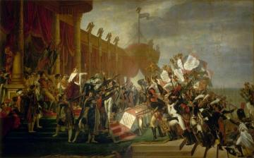 La Distribution Des Aigles Artwork by Jacques Louis David