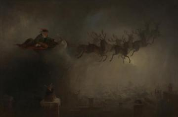 Santa Claus Artwork by William Holbrook Beard