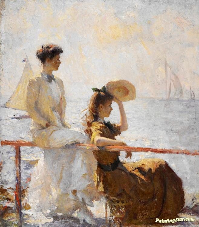 Summer Day Artwork by Frank W. Benson