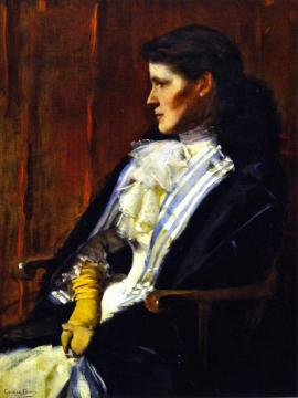 Mrs. Henry S Drinker (Aimeé Ernesta Beaux) Artwork by Cecilia Beaux