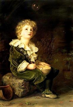 Bubbles Artwork by Charles Burton Barber