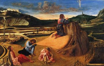 Agony in the Garden Artwork by Giovanni Bellini