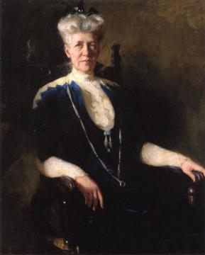 Susie Sanders Artwork by Frank W. Benson