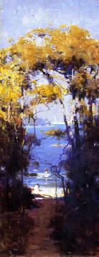 Sorrento, Naples Artwork by Sir Arthur Streeton