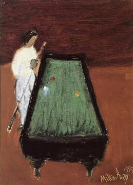 Pool Shark Artwork by Milton Avery