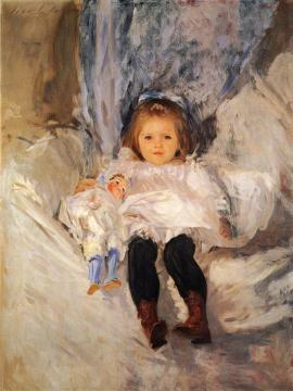 Ruth Sears Bacon Artwork by John Singer Sargent