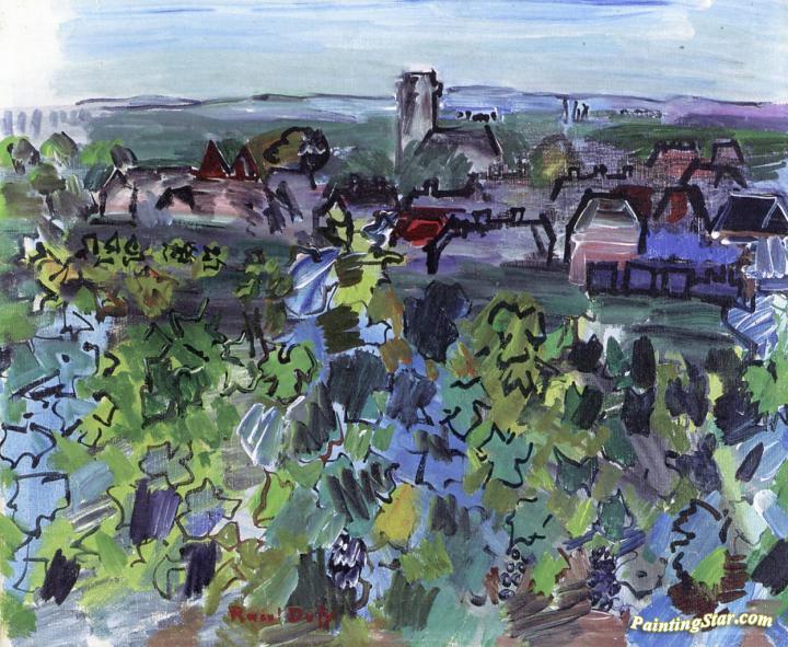 Burgundy Painting Art